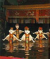 Water puppetry is a unique national heritage