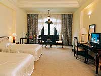 One of the Morin's spacious Deluxe rooms