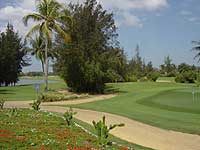 The Novotel's excellent golf course