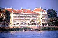 The Chau Doc Victoria Hotel has excellent views of the Bassac River