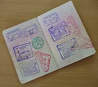 For a 'visa on arrival' , once you've paid your fee at the immigration desk, your visa will be glued into your passport