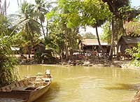 Rural life around Siem Reap is centred on the Siem Reap river