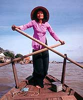 What the Mekong women lack in strength is compansated by their remarkable stamina