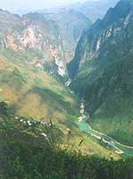 The Meovac Gorge in the Northern Highlands