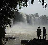 The Drey Nur Falls in Daklak province